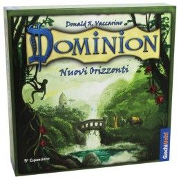 DOMINION NUOVI ORIZZONTI - GIOCO DA TAVOLO ITALIANO