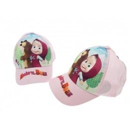 CAPPELLO BASEBALL CAP MASHA E ORSO MASHA AND THE BEAR ROSA