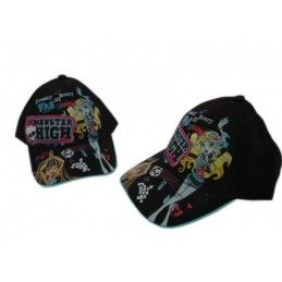 CAPPELLO BASEBALL CAP MONSTER HIGH NERO