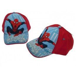 CAPPELLO BASEBALL CAP MARVEL SPIDERMAN WEB SLINGER ROSSO