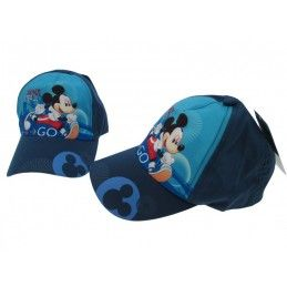 CAPPELLO BASEBALL CAP DISNEY MICKEY MOUSE TOPOLINO BLU NAVY