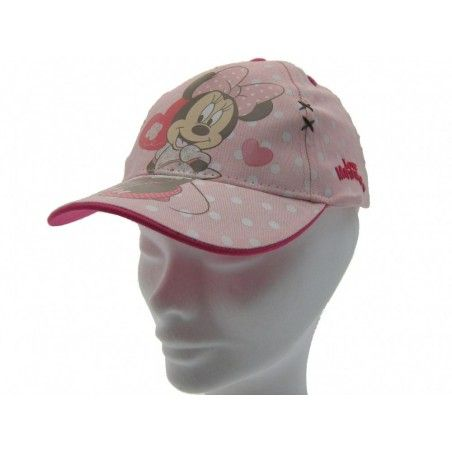 CAPPELLO BASEBALL CAP DISNEY MINNIE LOVE ROSA