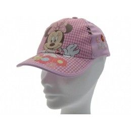 CAPPELLO BASEBALL CAP DISNEY MINNIE FIORI ROSA
