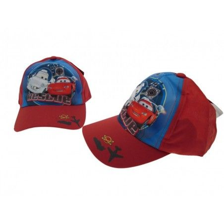 CAPPELLO BASEBALL CAP DISNEY CARS RESCUE ROSSO