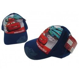 CAPPELLO BASEBALL CAP DISNEY CARS WORLD RACEWAY BLU ROYAL