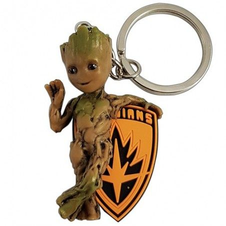 GUARDIANS OF THE GALAXY BABY GROOT FIGURE KEYRING KEYCHAIN PORTACHIAVI