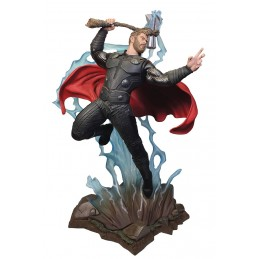 MARVEL MILESTONES - AVENGERS 3 INFINITY WAR THOR 40CM STATUE RESIN FIGURE DIAMOND SELECT