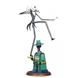 NBX GALLERY OOGIES LAIR JACK SKELLINGTON 25CM FIGURE STATUE DIAMOND SELECT