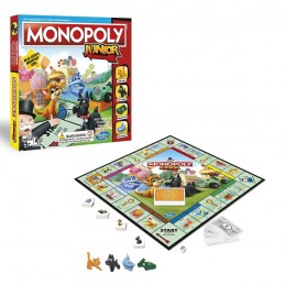 MONOPOLY JUNIOR REFRESH - GIOCO DA TAVOLO ITALIANO