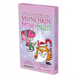 MUNCHKIN - FATINE E FOLLETTI - GIOCO DA TAVOLO ITALIANO