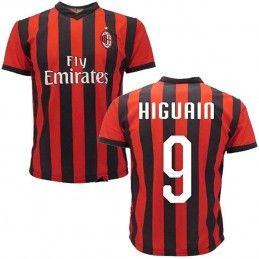 MAGLIA CALCIO UFFICIALE AC MILAN 2018 2019 HIGUAIN