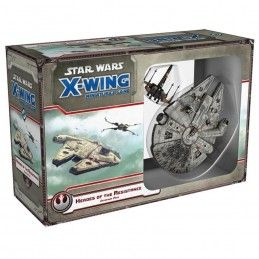 STAR WARS X-WING: HEROES OF THE RESISTANCE - MINIATURE GIOCO DA TAVOLO ITALIANO