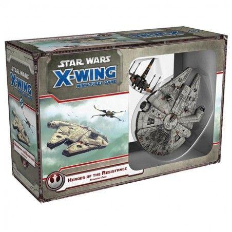 STAR WARS X-WING: HEROES OF THE RESISTANCE - MINIATURE GIOCO DA TAVOLO ITALIANO
