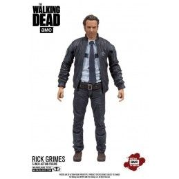 THE WALKING DEAD CONSTABLE RICK GRIMES ACTION FIGURE