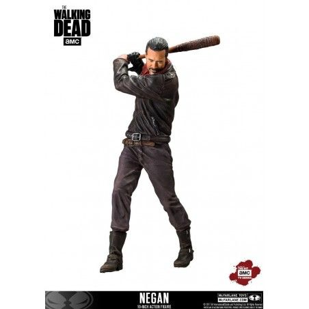 THE WALKING DEAD NEGAN 25CM DELUXE ACTION FIGURE