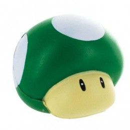 SUPR MARIO 3D STRESS BALL 1-UP MUSHROOM ANTISTRESS
