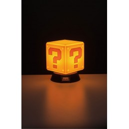 SUPER MARIO 3D LAMPADA LIGHT QUESTION BLOCK