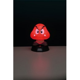 SUPER MARIO 3D LAMPADA LIGHT GOOMBA