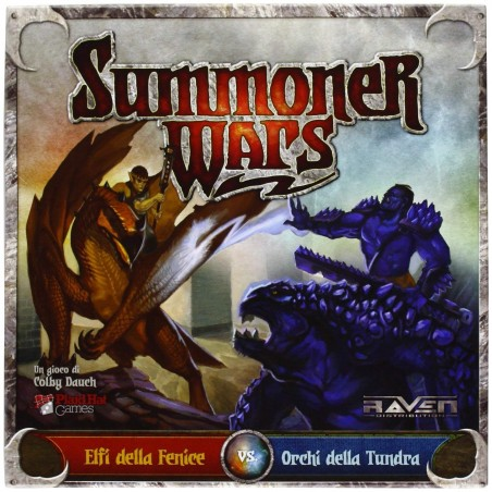 SUMMONER WARS - ELFI VS ORCHI - GIOCO DA TAVOLO IN ITALIANO