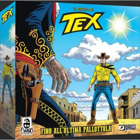 TEX - FINO ALL'ULTIMA PALLOTTOLA GIOCO DA TAVOLO IN ITALIANO