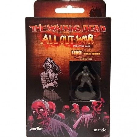 THE WALKING DEAD - ALL OUT WAR ESPANSIONE LORI - GIOCO DA TAVOLO ITALIANO