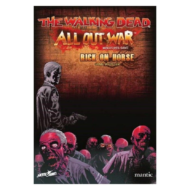THE WALKING DEAD - ALL OUT WAR ESPANSIONE RICK A CAVALLO - GIOCO DA TAVOLO ITALIANO