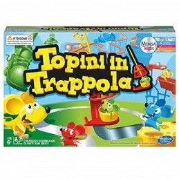 TOPINI IN TRAPPOLA - GIOCO DA TAVOLO IN ITALIANO HASBRO