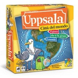 UPPSALA - CITTA' DEL MONDO - GIOCO DA TAVOLO IN ITALIANO