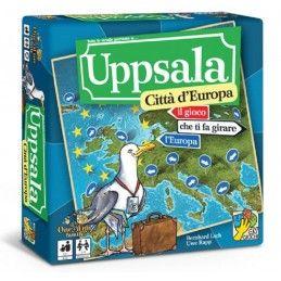 DV GIOCHI UPPSALA - CITTA' D'EUROPA - GIOCO DA TAVOLO IN ITALIANO