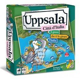 UPPSALA - CITTA' D'ITALIA - GIOCO DA TAVOLO IN ITALIANO