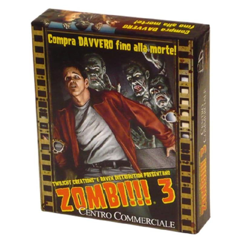 ZOMBI!!! 3 - CENTRO COMMERCIALE - GIOCO DA TAVOLO ITALIANO