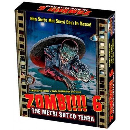 ZOMBI!!! 6 - TRE METRI SOTTO TERRA - GIOCO DA TAVOLO ITALIANO