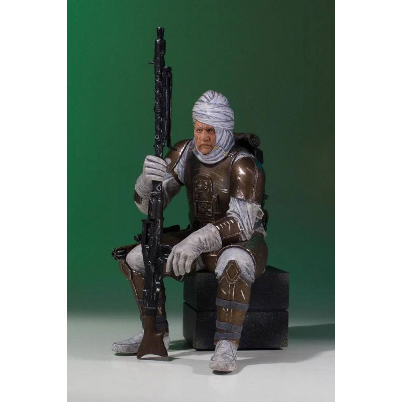 STAR WARS DENGAR COLLECTOR GALLERY RESIN STATUE 25CM FIGURE
