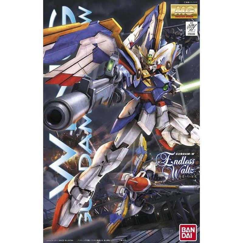 BANDAI MASTER GRADE MG WING GUNDAM XXXG-01W EW 1/100 MODEL KIT ACTION FIGURE