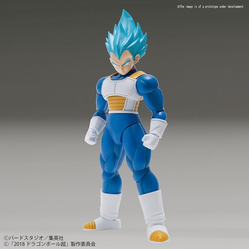 DRAGON BALL SUPER RISE SPECIAL COLOR SUPER SAIYAN GOD VEGETA MODEL KIT FIGURE BANDAI