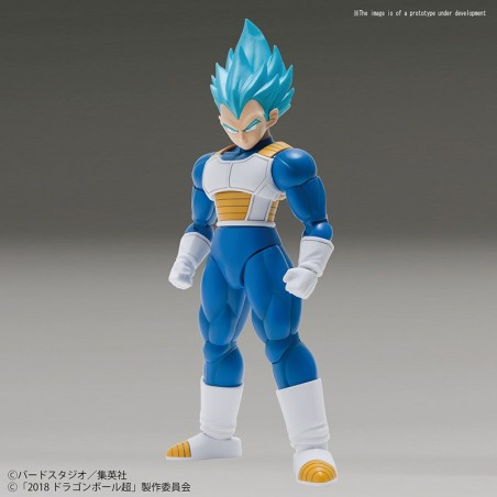 DRAGON BALL SUPER RISE SPECIAL COLOR SUPER SAIYAN GOD VEGETA MODEL KIT FIGURE