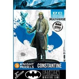 BATMAN MINIATURE GAME - JOHN CONSTANTINE MINI RESIN STATUE FIGURE KNIGHT MODELS