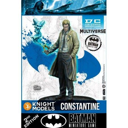 BATMAN MINIATURE GAME - JOHN CONSTANTINE MINI RESIN STATUE FIGURE