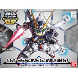 SD GUNDAM CROSS SILHOUETTE CROSSBONE GUNDAM X1 MODEL KIT