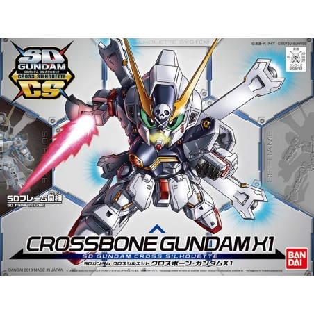 SD GUNDAM CROSS SILHOUETTE CROSSBONE GUNDAM X1 MODEL KIT