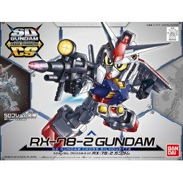 SD GUNDAM CROSS SILHOUETTE RX-78-2 GUNDAM MODEL KIT BANDAI