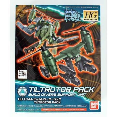 HIGH GRADE HGBC GUNDAM TILTROTOR PACK BUILD DIVERS SUPPORT UNIT 1/144 MODEL KIT