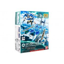 HIGH GRADE HGBC GUNDAM DIVER ACE UNIT BUILD DIVERS SUPPORT UNIT 1/144 MODEL KIT BANDAI