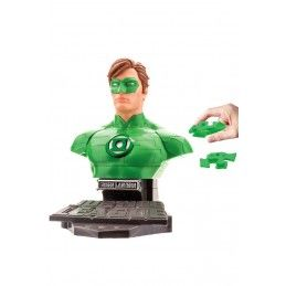 HAPPY WELL JUSTICE LEAGUE THE NEW 52 - GREEN LANTERN 3D PUZZLE BUST