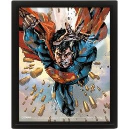 SUPERMAN LENTICULAR 3D POSTER 25X20CM PYRAMID INTERNATIONAL