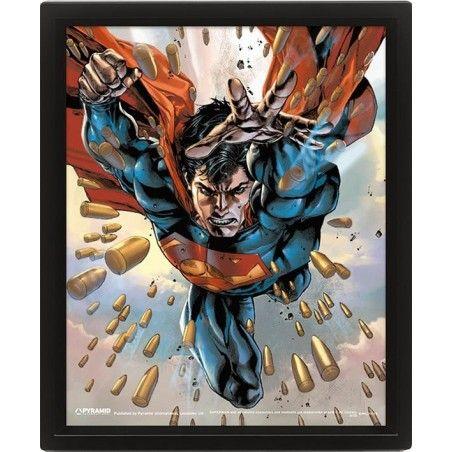 SUPERMAN LENTICULAR 3D POSTER 25X20CM