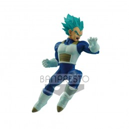DRAGON BALL SUPER WBR SUPER SAIYAN BLUE VEGETA 16 CM STATUE FIGURE BANPRESTO