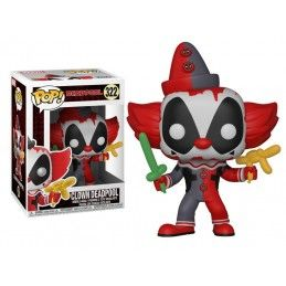 FUNKO POP! CLOWN DEADPOOL BOBBLE HEAD KNOCKER FIGURE