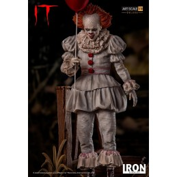 IT PENNYWISE 1/10 ART SCALE DELUXE RESIN STATUE 25 CM FIGURE