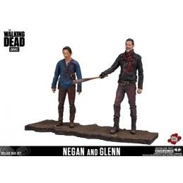 THE WALKING DEAD NEGAN AND GLENN 2-PACK ACTION FIGURE MC FARLANE